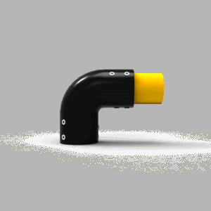 Conector en curva tipo 1