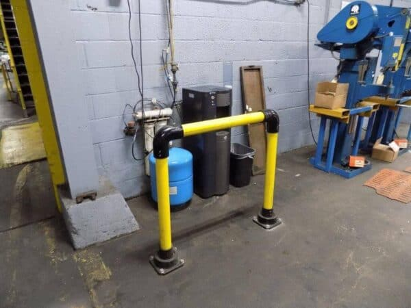 Conector en curva tipo 1 herradura tanque de agua