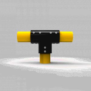 Conector en forma de t tipo 1