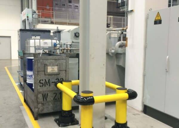 Piezas de instalación del protector de columna SlowStop en BMW